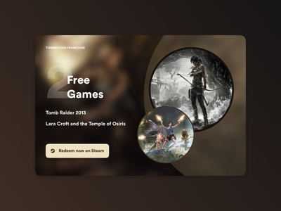 Daily UI Challenge #036 - Special Offer videogames steam redeem interface website web dailyui daily100challenge daily ui clean ui web design