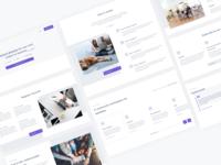 Indiemaker Template Design clean ui webdesign marketplace website templatedesign
