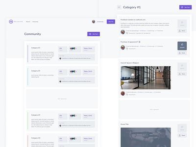 IndieMaker Blog Community post web clean web design interface categories forum community webdesign website marketplace