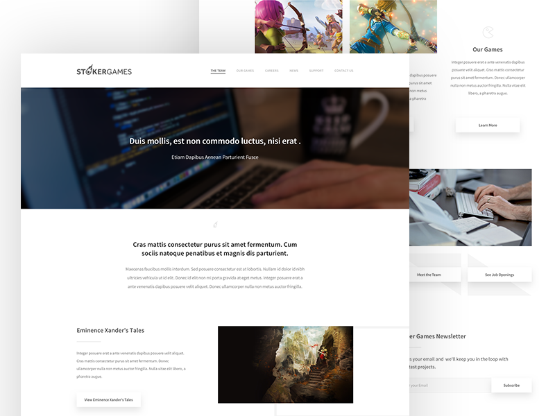 Stoker homepage