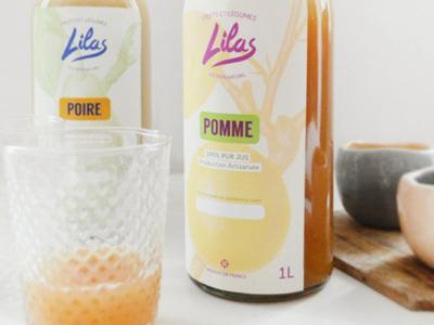 Lilas / Shot n°1 fruits branding organic vintage illustration botanical packaging labels