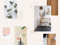 Minimal & Clean moodboard