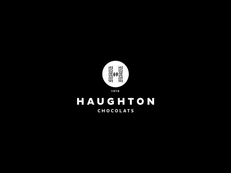Haughton Chocolats sweets french packaging vintage yummy identity chocolate typography illustration branding logo