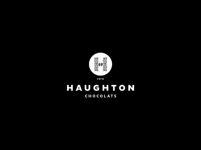 Haughton Chocolats sweets french packaging vintage yummy identity chocolate typography illustration branding logo