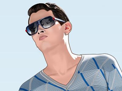 Lacoste Illustration illustration illustrator photoshop lacoste vector