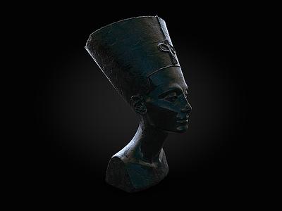 Nefertiti renderoftheday c4d