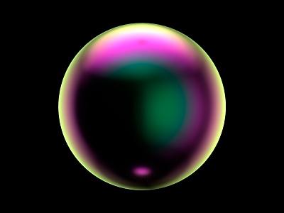Film Gradient Bubble Dribble c4d 3d