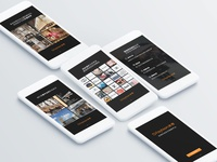ofashion app 引导页设计
