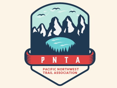 PNTA mountain logo emblem logo north west logo
