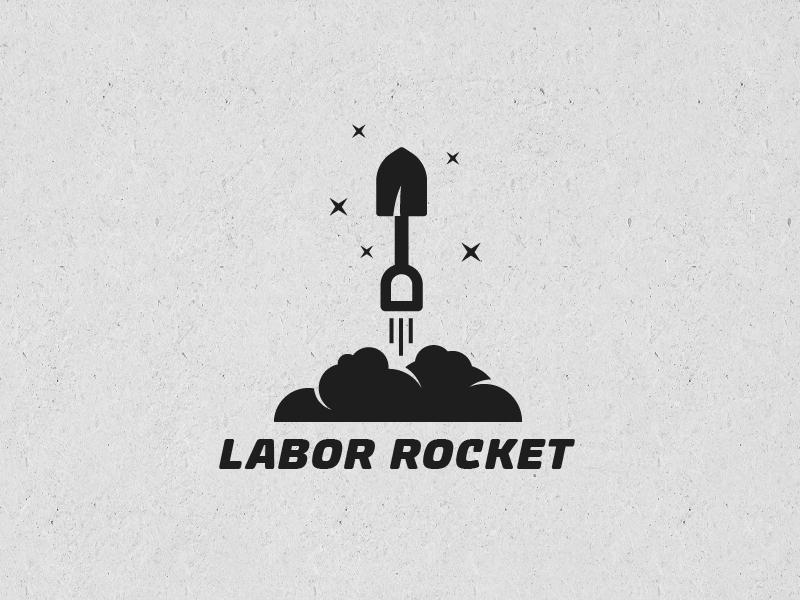 Labor rocket logo labor rocket logo. labor logo