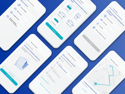 Seguros Sura - App de Autogestión design dashboard map icons cards components library ilustration app mobile app platform aerolab insurance ux ui ui ux desktop web design product design mobile