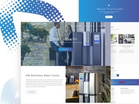 INO Water Cooler PSD template