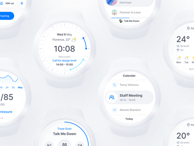 Smartwatch UI design app ui ux uidesign uiux watch smartwatch user experience user interface design user interface userinterface ux prototype interaction design figma app ux design design ui inspire ui design