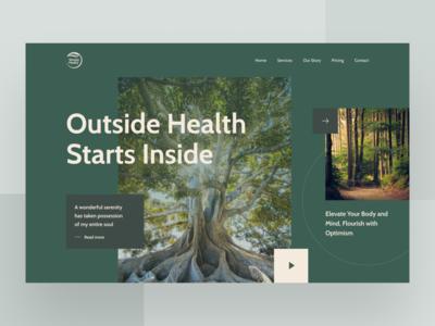 Simply Healty Website