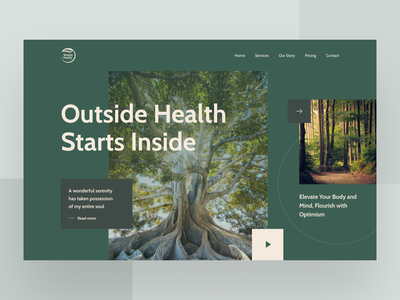 Simply Healty Website ui  ux design uiux web web design website concept webdesign website design website ui  ux uidesign ux user interface prototype interaction design figma ux design design ui inspire ui design