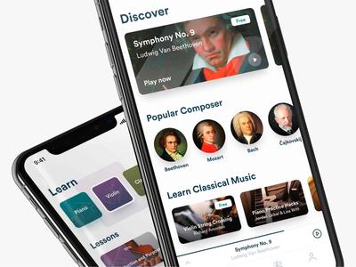 Harmony classical music app