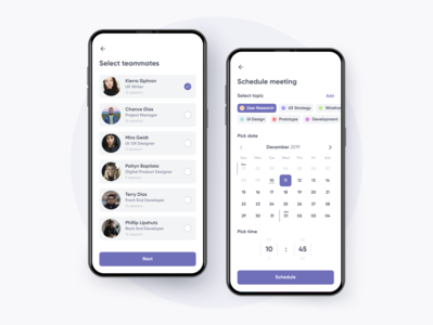 Meeting Organizer App