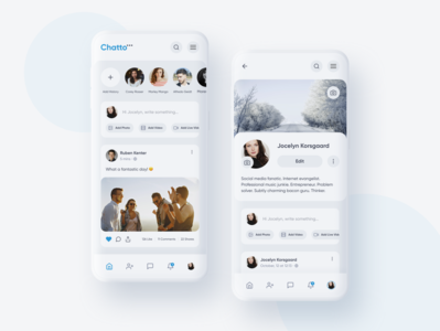 Chatto Social Network App
