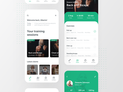 Gymr — Gym Trainers App gym userinterface user interface design workout ui  ux uidesign trainers gym app user interface ux interaction design prototype figma app ux design ui design inspire ui design