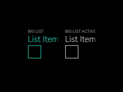 Push big list
