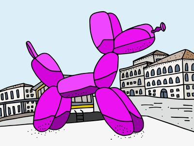 Jeff Koons' Balloon Dog