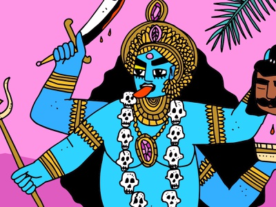 Kali Ma skull goddess god hindugod hindu india indian kalima kali
