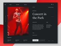 Event Product Page
