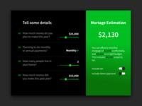 Mortgage calculator - Daily UI 4