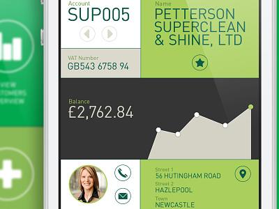 Accounting Screens App accounting app ui user interface visual branding