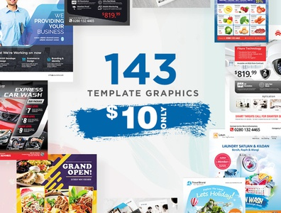 Template Pack Promo 10 USD
