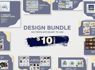 Design Bundle - 143 Template only $10