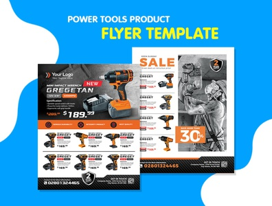 Power Tools Product Flyer Bundle