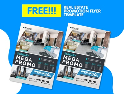 Hotel Flyer Templat For Promotion