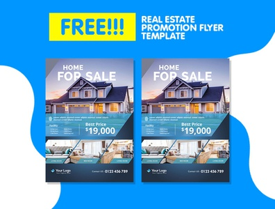Real Estate Flyer Template For Your Promotion