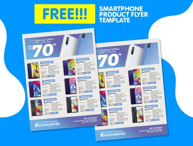 Smartphone Catalog Flyer For  Promotion of Your Business