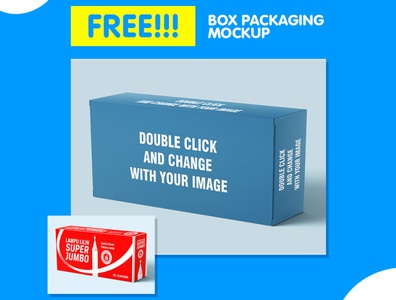 Box Packaging Mockup Template flyer business corporate corporate business flyer advertisement