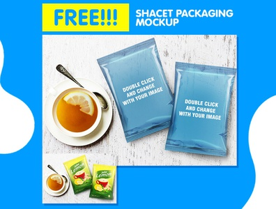 Clean Packaging Sachet Mockup Psd Template flyer business corporate corporate business flyer advertisement