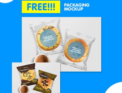 Professional & Clean Bread Packaging Mockup For You Template flyer business corporate corporate business flyer advertisement