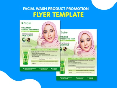 Product Flyer Facial Wash flyer business corporate corporate business flyer advertisement