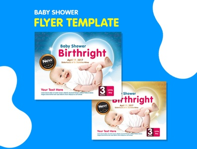 Flyer Template - Baby Flyer flyer business corporate corporate business flyer advertisement