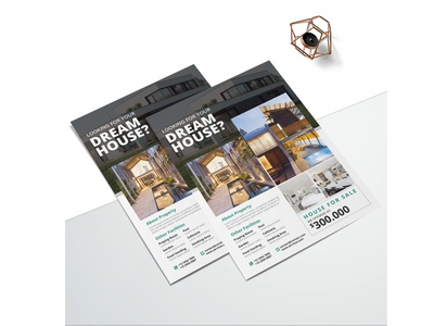 Printable Real Estate Flyer business flyer flyer design design branding advertising business flyer corporate corporate business flyer advertisement