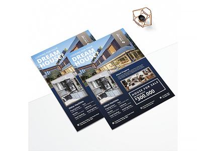 Printable Real Estate Flyer business flyer flyer design design branding advertising business corporate flyer corporate business flyer advertisement