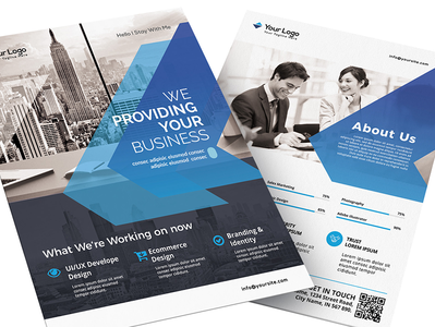 Corporate  Business Flyer Template Download