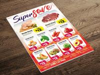Supermarket Promotion Flyer