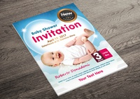 Baby Shower Flyer - Invitation Flyer