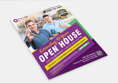 Business College Flyer