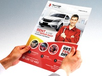 Rent A Car Flyer & CarService Flyer