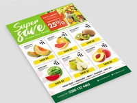 Supermarket Promotion Flyer