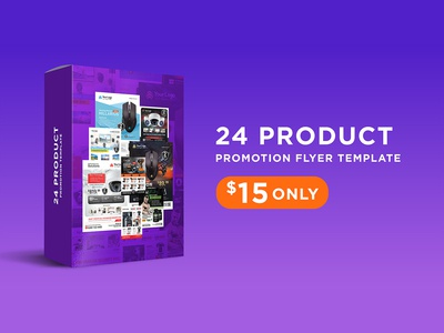 Product Promotion Flyer Pack