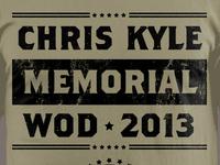 Chris Kyle Memorial WOD Shirt